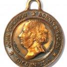 1926 John Ericsson National Monument Souvenir Medal Ironclad Ship USS Monitor
