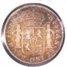 1798 F.M. Mexico Silver 8 reales Coin KM#109 Mexico City .7797 ASW VF Details