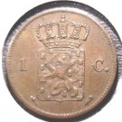 1870 Netherlands Cent coin KM#100  Holland Dutch
