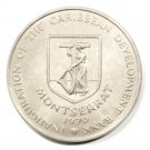 "1970 Montserrat FAO Four Dollar Coin BU KM#30  ""Grow More Food for Mankind"""