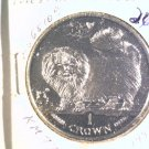 1997 Isle of Man BU Crown Coin Brilliant Uncirculated KM#774 Cat