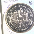 1996 Isle of Man BU Crown Coin Brilliant Uncirculated KM#683 Arthur Camelot