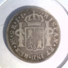 Peru 1788 I.J. Lima Silver 2 Reales coin KM#76a  .1949 ASW Carlos III
