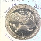 1988 Isle of Man BU Crown Coin Brilliant Uncirculated KM#224 Australia 200 Years