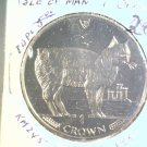 1988 Isle of Man BU Crown Coin Brilliant Uncirculated KM#245  Cat