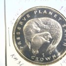 1994 Isle of Man BU Crown Coin Brilliant Uncirculated KM#386 Seal and Pup
