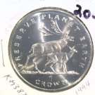 1994 Isle of Man BU Crown Coin Brilliant Uncirculated KM#387 Deer