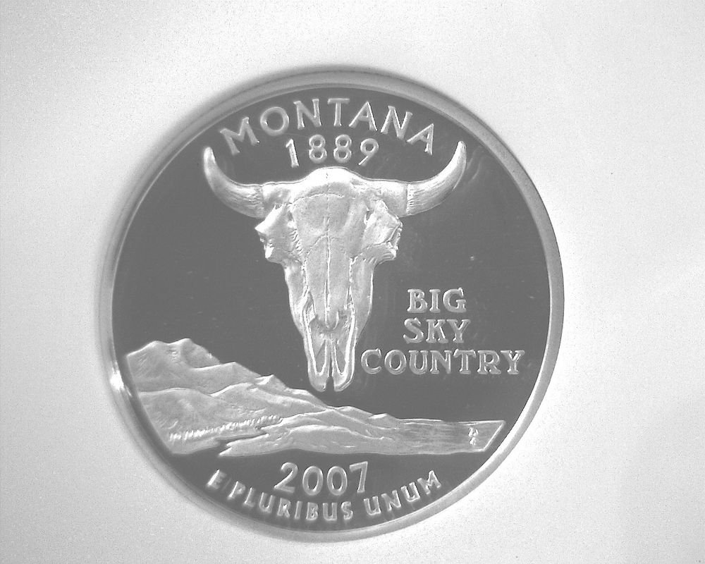 2007 S Silver Proof  Montana State Quarter NGC PF70 Ultra Cameo Free US Ship