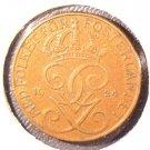 1924 Sweden 5 Ore Coin  KM#779.2