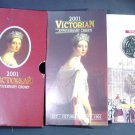 2001 Victorian Anniversary Crown 5 pounds coin BU in original packaging with COA