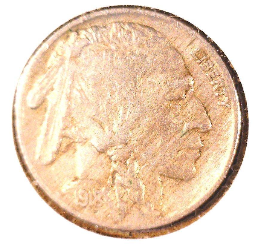 1918 Buffalo Nickel Very Fine Condition