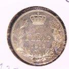 1912 Serbia 1 Dinar Silver Coin KM#25.1 .1342 ASW Peter I