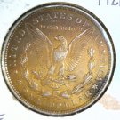 1921  Morgan Silver Dollar   Very Fine VF  Below Wholesale ! Interesting Color