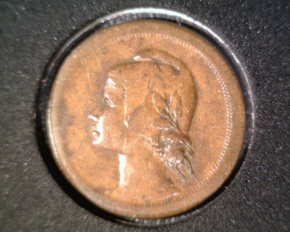 1926 Portugal 10 centavos Coin KM#573  Liberty Head as a Young Girl