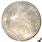 Austria 1961 Silver 25 Schilling Coin BU .3344 ASW KM#2891 Burgenland
