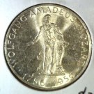 Austria 1956 Silver 25 Schilling Coin  BU .3344 ASW  KM#2881  Mozart