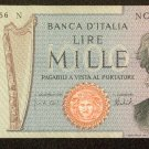 1975 Italy 1,000 Lire Bank Note  Pick# 101D UNCIRCULATED Below Wholesale !