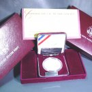 1993 Thomas Jefferson Silver Proof Commemorative Dollar OGP and COA