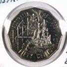 1988 Australia 50 cents coin KM#99 Brilliant Uncirculated   Ship BU