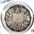 1985 Australia 50 cents proof coin KM#83 Coat-of-arms