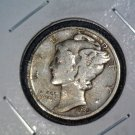 1935 Mercury / Winged Liberty Dime Fine Condition