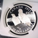 Canada 2013 Early Releases Lifelong Mates $20 Silver Proof Coin NGC PF70UCAM
