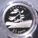 1992 Canada Commemorative Silver Proof 25 cent Coin .925 Silver  Ontario  COA