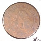 1870 OM Spain 10 Centimos Coin KM#663  Diez Centimos