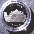 1992 Canada Commemorative Silver Proof 25 cent Coin .925 Silver Manitoba COA