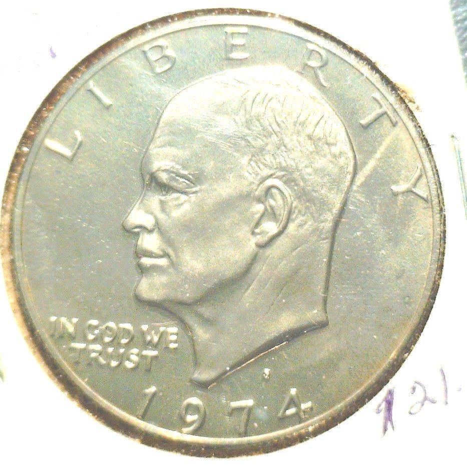 1974 S Eisenhower Proof Dollar IKE DOLLAR
