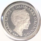 1987 Denmark 10 Kroner Coin  KM#864.2 BRILLIANT UNCIRCULATED Margarethe II