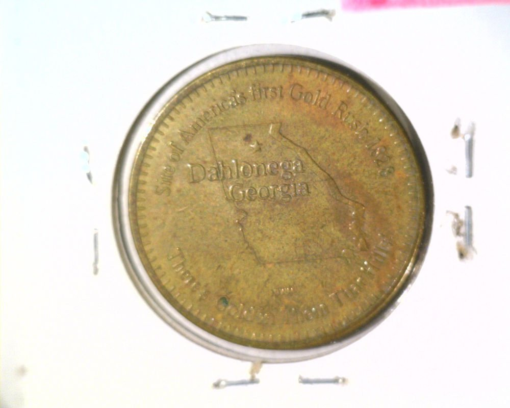 Dahlonega General Store Coffee Token Good for One Free Cup of Coffee Gold Rush