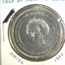 1984 Isle of Man BU Crown Coin Brilliant Uncirculated KM#132 Parliament Conf.