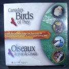 2000 Canada Birds of Prey Sterling Silver 50 Cent 4 coin Set  unopened OGP