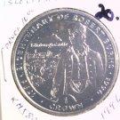 1996 Isle of Man BU Crown Coin Brilliant Uncirculated KM#580 Poet Robert Burns