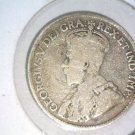 1912 Canada Silver 25 cents coin  Very Good Condition KM#24   .1734 ASW   VG