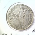 1931 Panama Silver Balboa Coin KM#13  .7695 ASW  Blue Lot