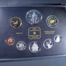 1998 Canada Silver Proof Set  6 silver coins In original holder w/ COA Mounties