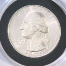 1943 Silver Washington Quarter Brilliant Uncirculated Nice coin, great luster