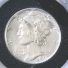 1940 Silver Mercury Dime Winged Liberty Brilliant Uncirculated Great Luster !