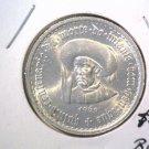 1960 Portugal 10 Escudos Silver Coin KM#588 BU .319 ASW Henry the Navigator BLUE