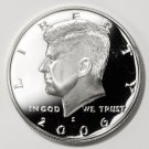 2006 S Silver Proof Kennedy Half Dollar   Gem Cameo Proof !