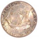 Pilgrim Tercentenary silver 50 cent coin 1920 NGC MS65 Mayflower Ship 1 of 1051