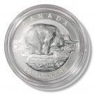 2013 Canada Silver Proof $10 coin Polar Bear 1/2 oz .9999 fine silver  OGP & COA