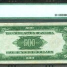 $500 Federal Reserve Note 1934A Cleveland PMG 53 About Uncirculated