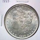 1889 Morgan Silver Dollar Brilliant Uncirculated