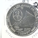 1989 Isle of Man BU Crown Coin Brilliant Uncirculated KM#243 Mutiny on Bounty