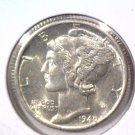1940 D  Mercury Dime  About Uncirculated