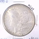 1899 O Morgan Silver Dollar Choice Brilliant Uncirculated BU Details Scratched