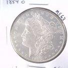 1884 O Morgan Silver Dollar Choice Brilliant Uncirculated BU+